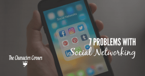 Problems with social networking