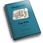 New!  Character Traits Copy Work Volume 2