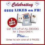 $55 Celebration Giveaway  & 50% Off Sale