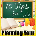 10 Tips For Planning Your Homeschool Day