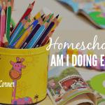 Homeschool – Am I Doing Enough?