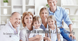affording a large family