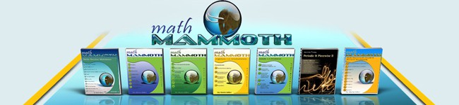 Math Mammoth Curriculum
