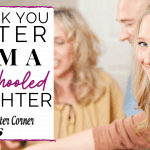 A THANK YOU LETTER FROM A HOMESCHOOLED DAUGHTER