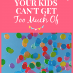 A Wholesome Activity Your Kids Can't Get Too Much Of