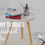 How & Why To Create A Homeschool Portfolio (Free portfolio)