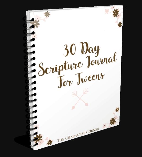 Scripture Journal For Tweens