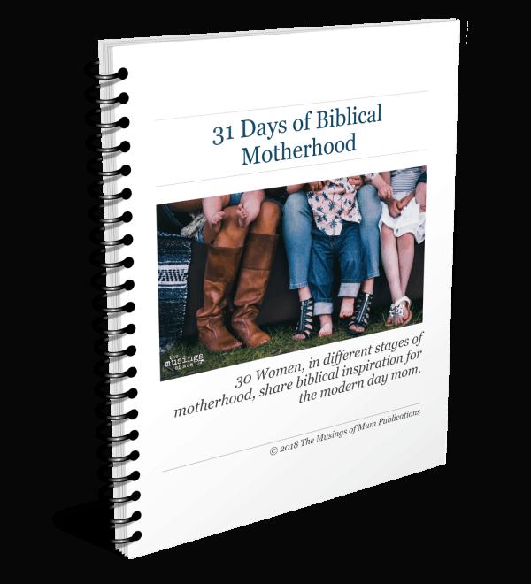 Spiral 30 Days of Biblical Motherhood Cover