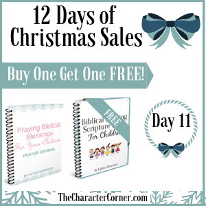 Day 11 12 Days of Christmas Promo Graphics The Character Corner
