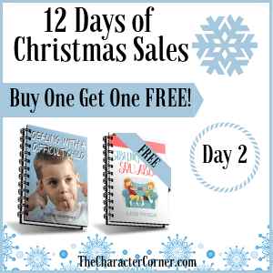 Day 2 Products 12 Days of Christmas Promo Graphics The Character Corner