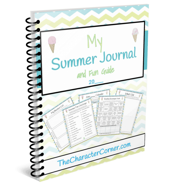 Download Your Copy of My Summer Journal and Fun Guide from The Character Corner