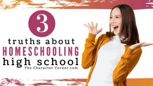 Happy Mom 3 Truths About Homeschooling High School