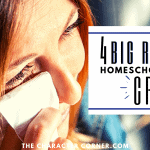 4 Big Reasons Homeschool Moms Cry