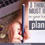 3 Things You Must Include In Your Homeschool Planning