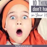 10 Things You DON'T Have to Do in Your Homeschool