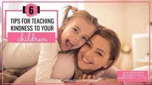 how to teach kindness to a child