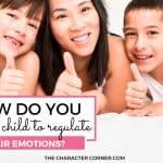 How Do You Teach A Child To Regulate Their Emotions?