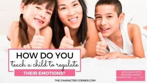 Mom with boy and girl happy emotionally controlled How Do You Teach A Child To Regulate Their Emotions?