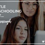My Little Homeschooling Secret – It's Not Enough
